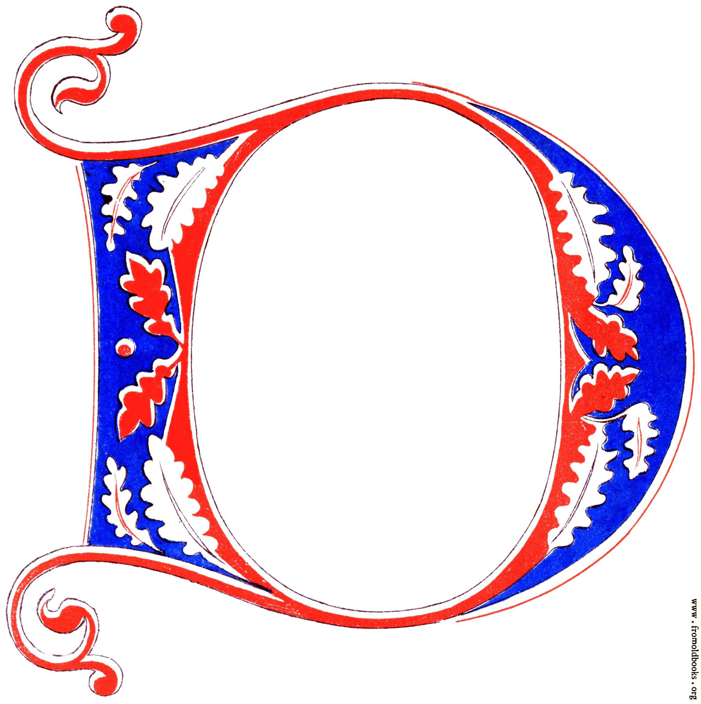 Decorative Alphabet Letter R