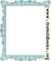 [Picture: Decorative clip-art Victorian border, antique green]