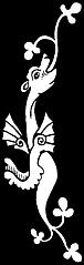 [picture: Stylized Black Dragon]
