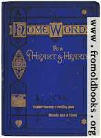 Front cover for Home Words