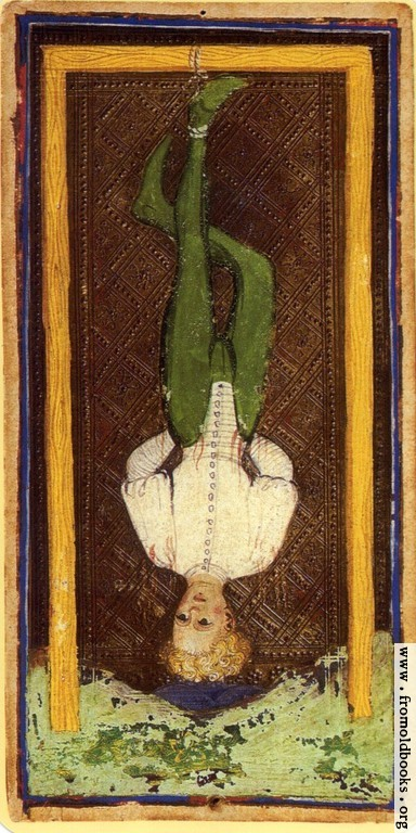 Trump 12: Hanged Man. [image 250x500 pixels]