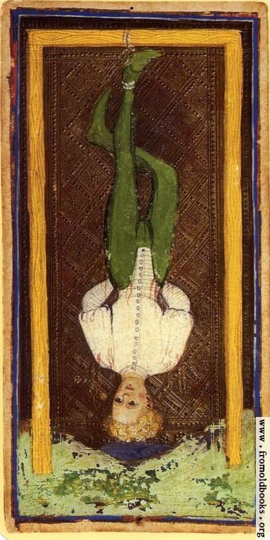 Trump 12: Hanged Man. [image 250x500 pixels]