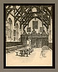 [picture: XXIV.---Wadham College, The Hall Interior]