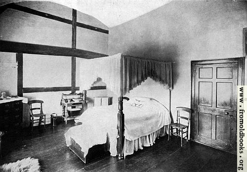 [Picture: Room in which Lawrence Washington was born, Sulgrave Manor]