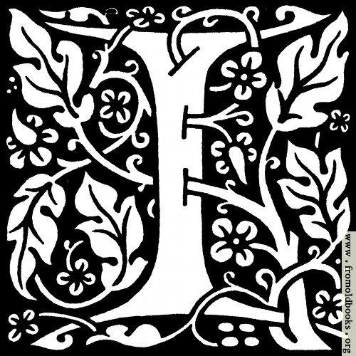 """[Picture: decorative letter """"I""""]"""