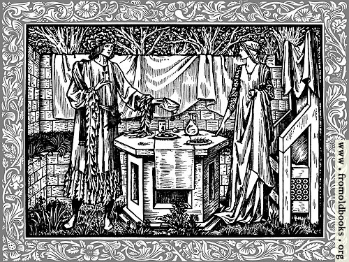 [Picture: Woodcut with border]