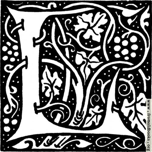 [Picture: Decorative initial L]