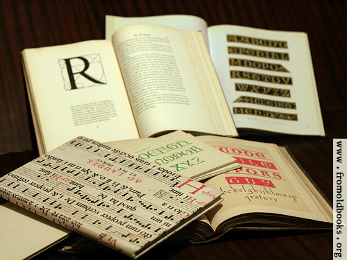 [Picture: Alphabet Book Pile]