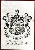 Bookplate: W. T. R. Powell