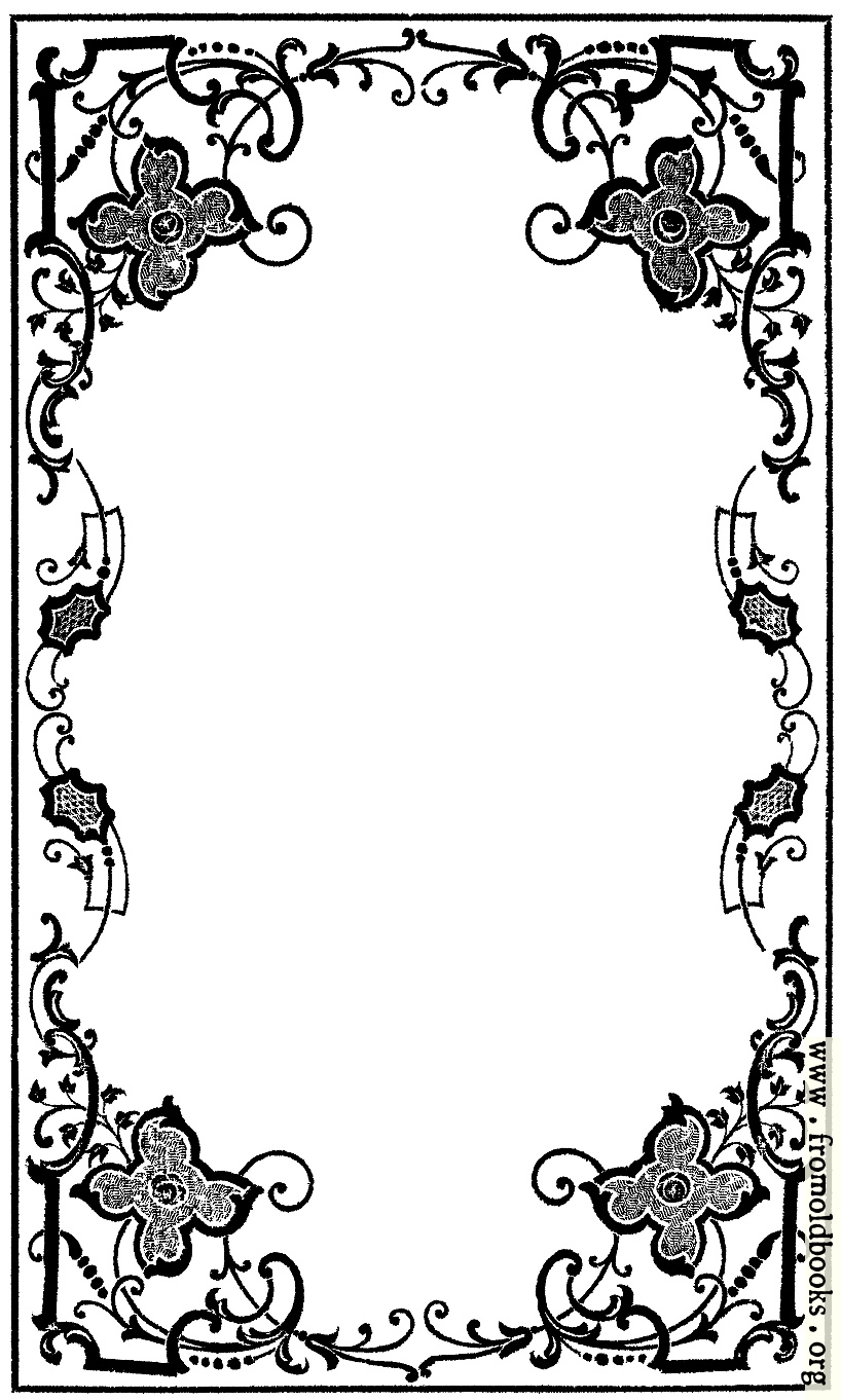 early victorian border from book cover