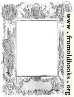 Ornate Victorian border or frame