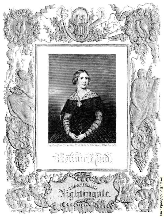 [Picture: Jenny Lind - The Swedish Nightingale]