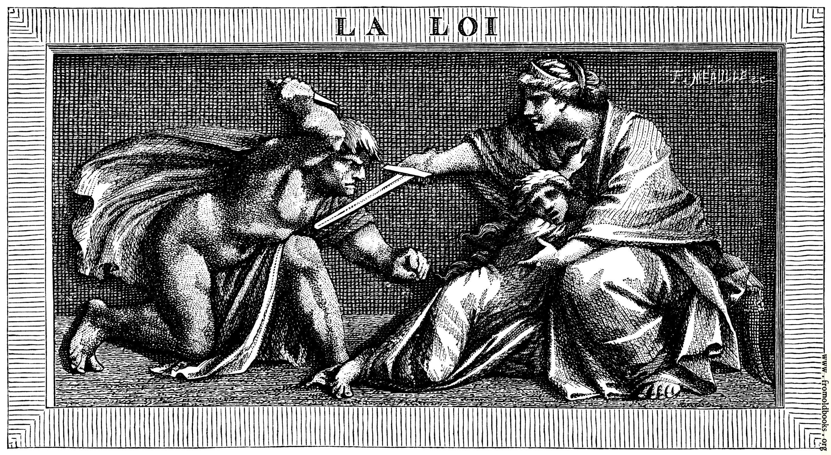 [Picture: La Loi: Le faible trouve sa force dans la loi qui le protège]