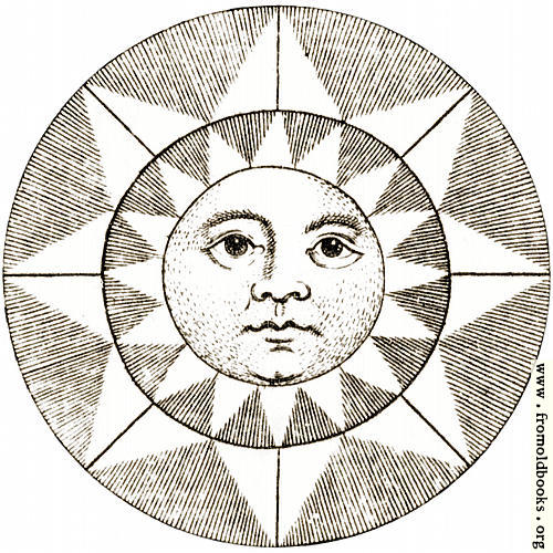 [Picture: Plate XLII.—Astronomy: detail: the face of the sun.]