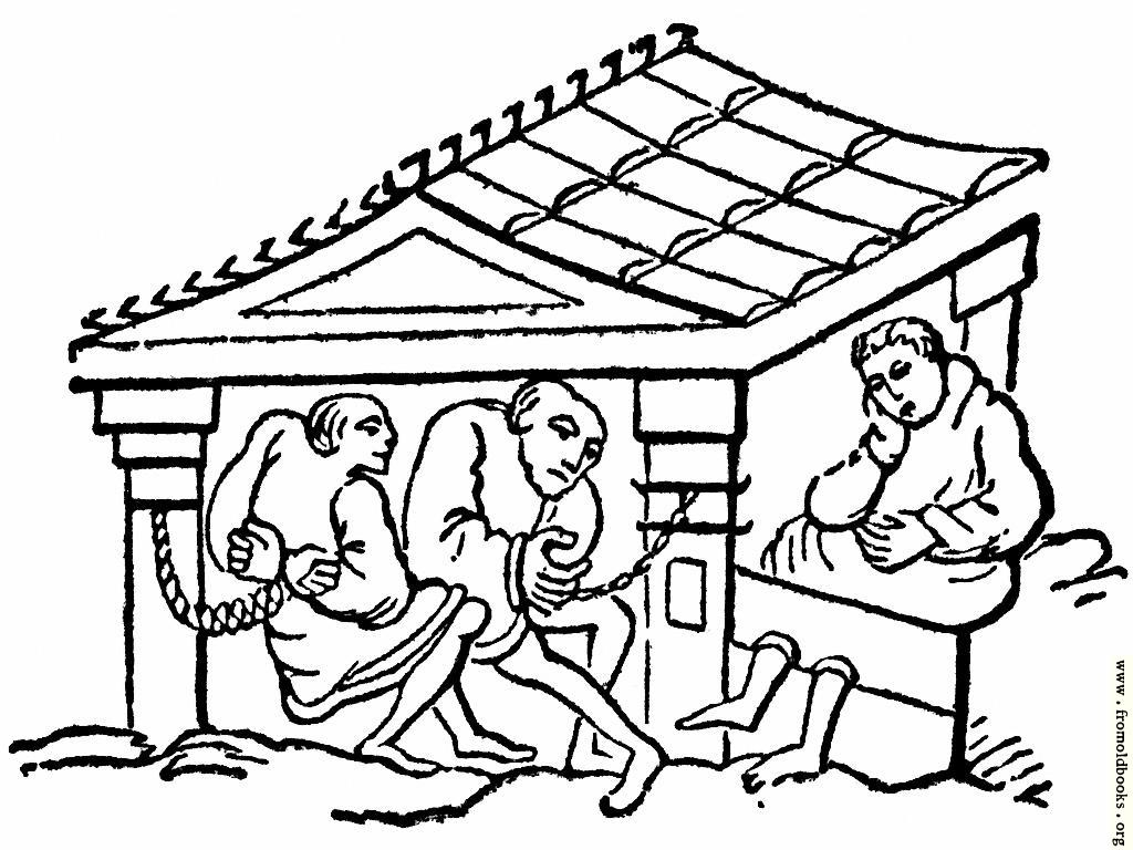 [Picture: Anglo-Saxon Punishments]