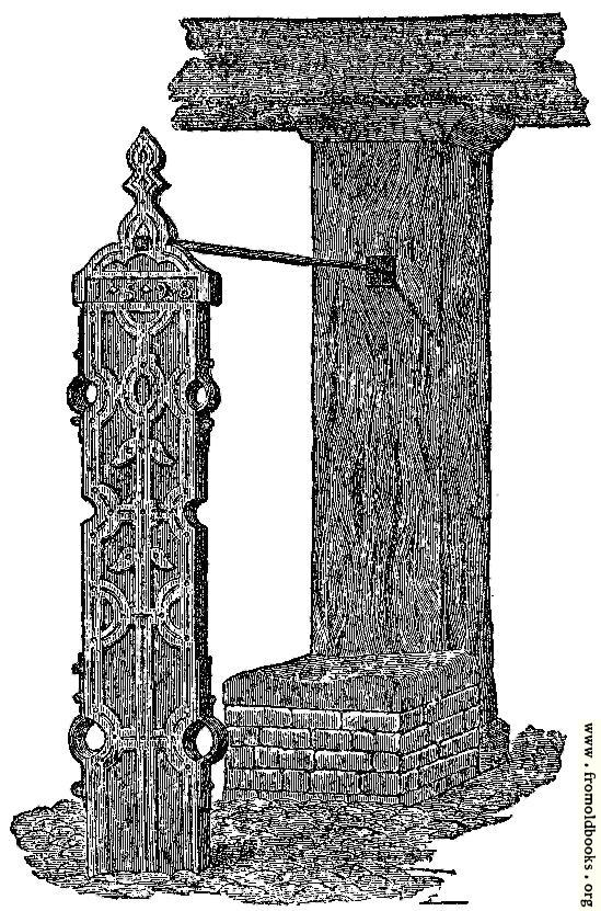 [Picture: Waltham Abbey Whipping-Posts and Stocks.]