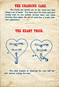 [picture: Page 4: The Changing Card and The Heart Trick.]
