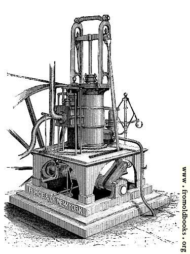 [Picture: Vertical Steam Engine—For Manufacturing Purposes.]