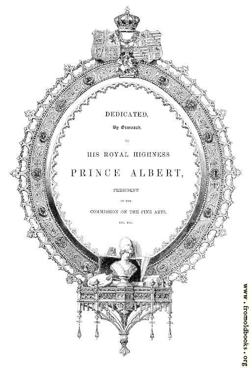 [Picture: Dedication page With Cartouche]