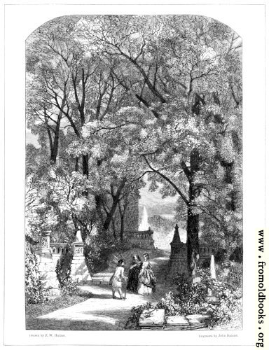 [Picture: Passages From The Poets– A Garden.]