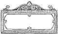 Ornate Rectangular Frame