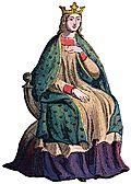[Picture: Mediæval Queen]