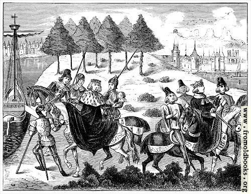 [Picture: Arrest of the Duke of Gloucester]