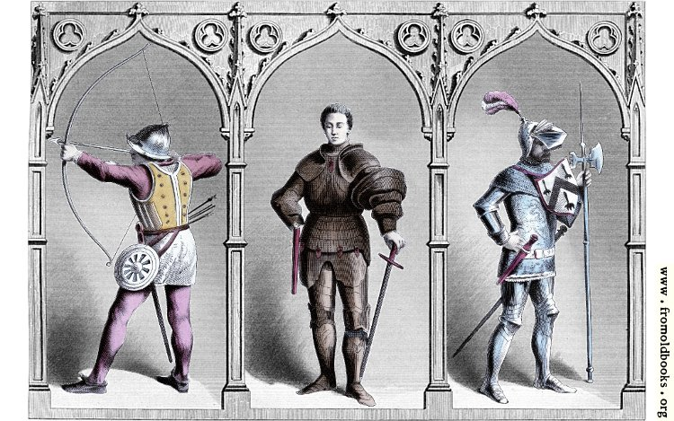 [Picture: Military Costume, Middle of Fifteenth Century.]