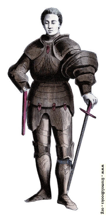 [Picture: Costume of Fifteenth Century Knight]