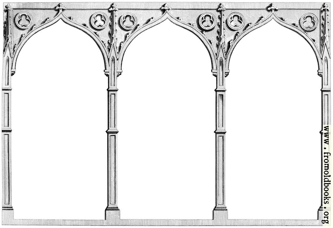 Three Gothic Arches