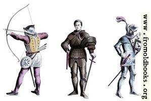 [Picture: Three knights from the 15th century]