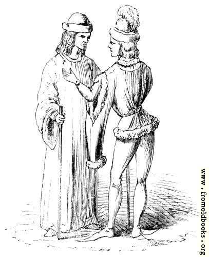 [Picture: The Dukes of Gloucester and Clarence. (Royal MSS.)]