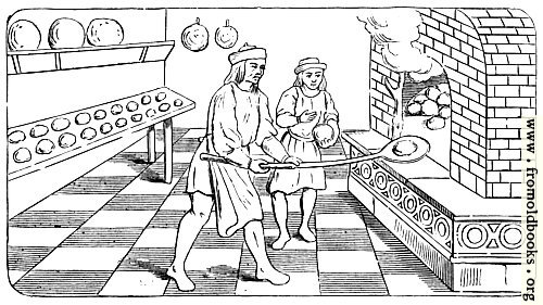 [Picture: Bakehouse of the Fifteenth Century]