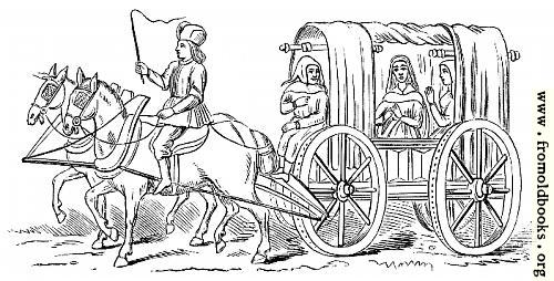 [Picture: Carriage of the Fifteenth Century.]
