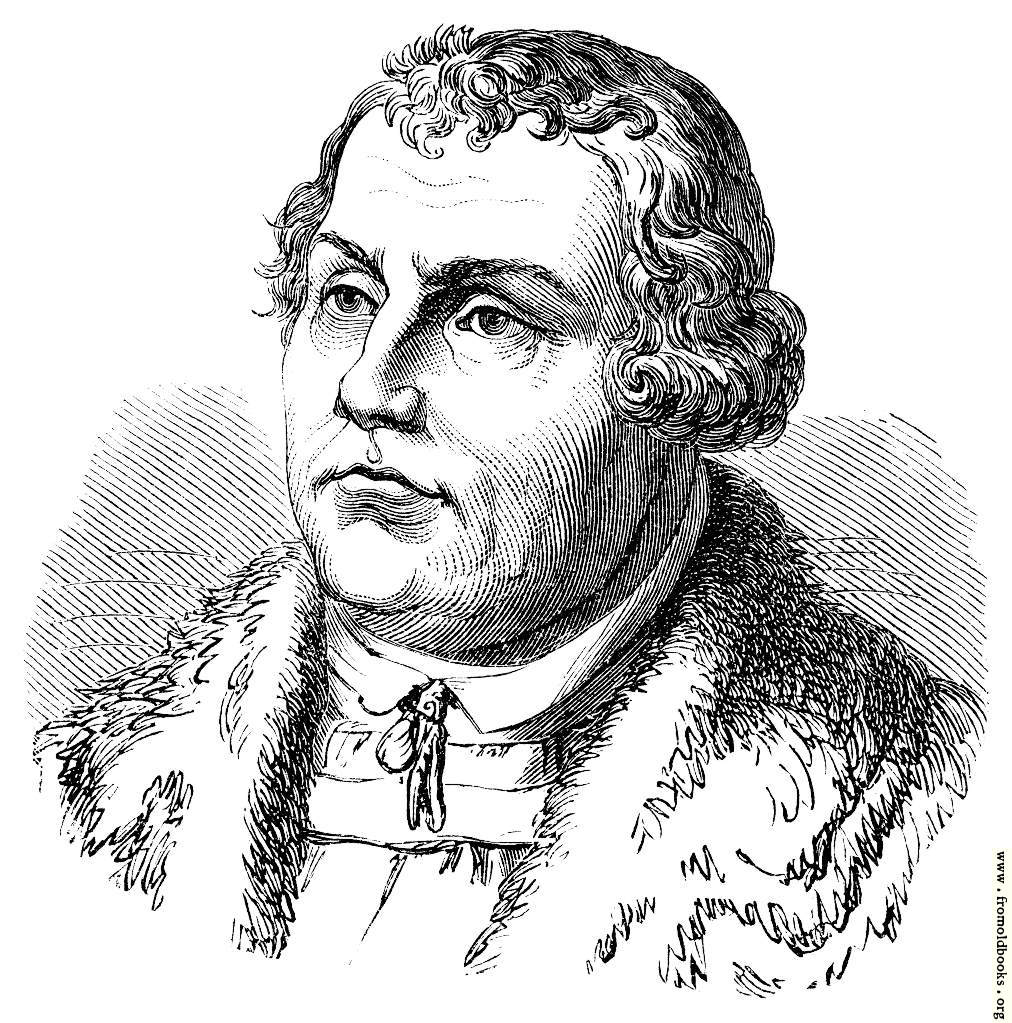 [Picture: Dr. Martin Luther.]