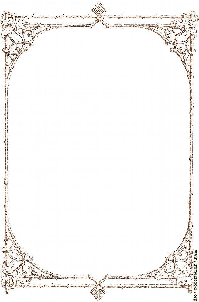 Border Frame Victorian Download Vintage Baroque Victorian Frame ...