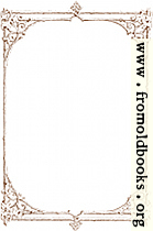 [Picture: Free clip-art: Victorian border of brown twigs]