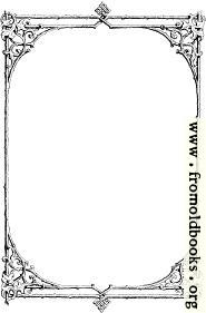 [Picture: Free clip-art: Victorian border of twigs and leaves]