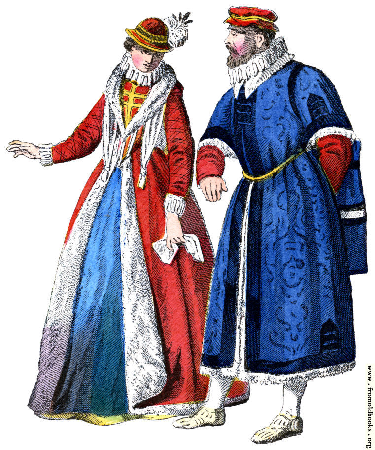 [Picture: Sixteenth-century noble couple]