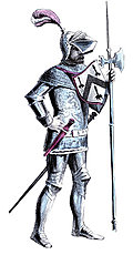 Costume of Fifteenth Century Pikeman