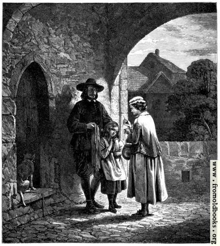 [Picture: John Bunyan at Bedford Gaol.]
