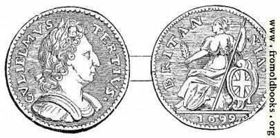 [Picture: Halfpenny, William III]