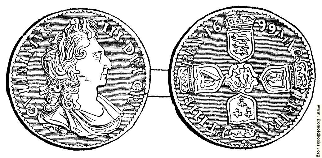 [Picture: Shilling, William III]