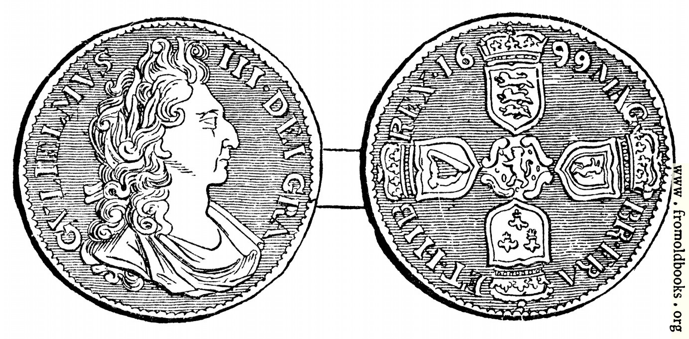 [Picture: Shilling, William III]