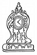 [picture: Queen Anne Clock]