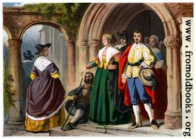 [picture: Dress of the Commonality, Time of Charles I.  A.D. 1630.]