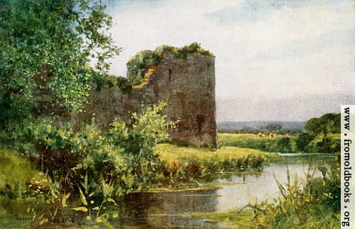 [Picture: 86.—Pevensey Castle]