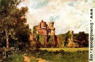 [Picture: 98.—Hurstmonceaux Castle]