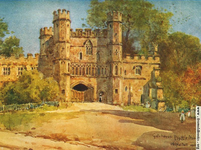 [Picture: Gatehouse, Battle Abbey (wallpaper version)]