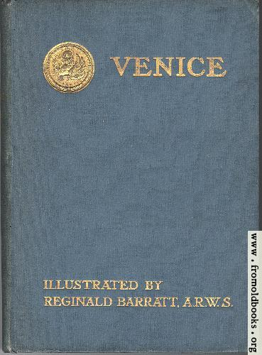 [Picture: Front Cover, Venice]